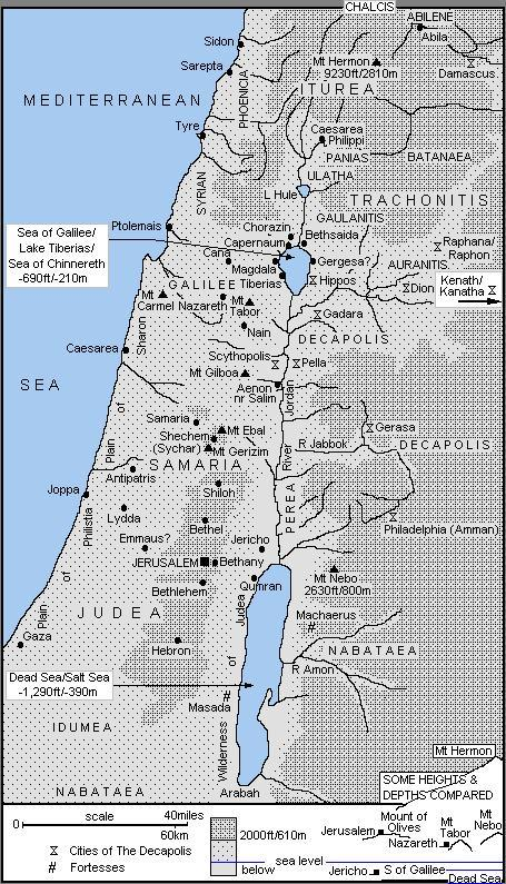 Israel time of Jesus Christ