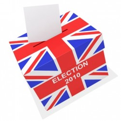 UK General Elections ballot box