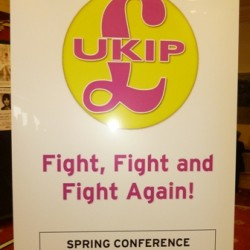 UKIP Poster from Scarborough Conference 2011